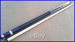 NEW McDermott Star Series S22 Pool Cue Blue Pearl Inlays Premium Layered Lth Tip