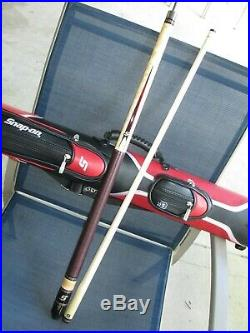 NEW Snap On Tools McDermott G Core 19.5oz Pool Cue & RARE Matching Leather Case