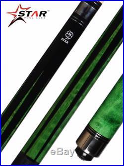 New McDermott Star S73 Billiard Pool Cue Stick 3/8 x 10 Joint + FREE CASE