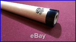 Players HXT Low Deflection Pool Cue Shaft 12.75mm 3/8 x 10 Blk Collar McDermott