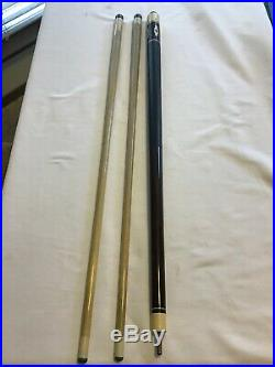 Retired McDermott D Series 1984-1990 D10 Three (3) Piece Pool Cue Stick