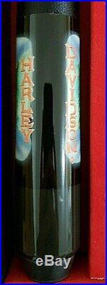 Retired McDermott HARLEY DAVIDSON Limited Edition Pool Cue Stick & Case USA