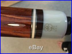 Rusty Melton Pool Cue Case with new McDermott Cue