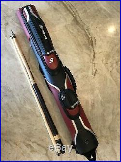 Snap On Mcdermott Limited Edition Pool Cue And Custom 2x2 Case New