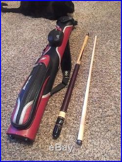 Snap on Tools Pool Cue Stick Mc Dermott with Case