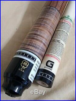 Super Sharp McDermott Custom pool cue G240C June COTM leather wrap 19oz 12.50mm