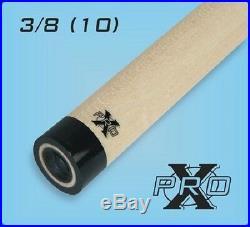 Tiger Pro-X Shaft 3/8 x 10 Pool Cue Shaft For McDermott Black Collar