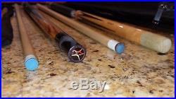 Two McDermott Pool Cues, Case, and Accessories No Reserve, Buy It Now