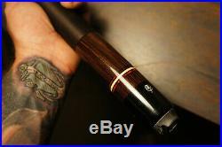 VINTAGE McDERMOTT E-G1 Series Vtg POOL Billiard CUE & Joe Porper 1x1 Case