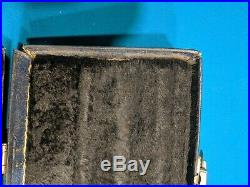 Vintage McDermott 1x2 Pool Cue Case Luggage Style