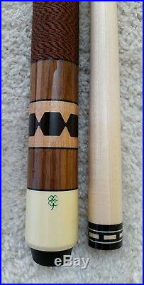 Vintage McDermott D11 Pool Cue Stick, Excellent Original Condition with New Shaft