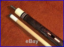Vintage McDermott D25 Pool Cue With One Maple Shaft