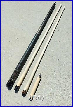 Vintage McDermott M12B Used Billiard Pool Stick Cue with2 Shafts G-Core