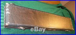 Vintage McDermott Pool Cue Case Luggage Style