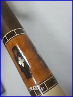 Vintage McDermott Pool Cue Stick Leather Case