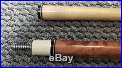 Vintage McDermott Wooden Used Billiard Pool Stick Cue